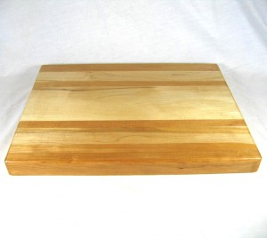 Cutting Board: Cherry and Maple 12″ x 16″ x 1.5″