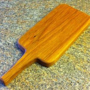 Paddle Board: Red Oak 15″ by Furst Woodworks