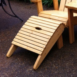 Adirondack Chair set by Furst Woodworks