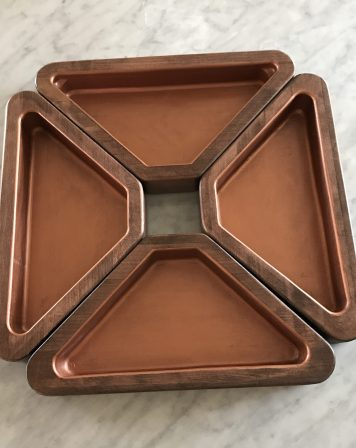 Copper Lined Bowl Set