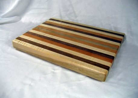utting Board: Cherry, Walnut and Maple by Furst Woodworks