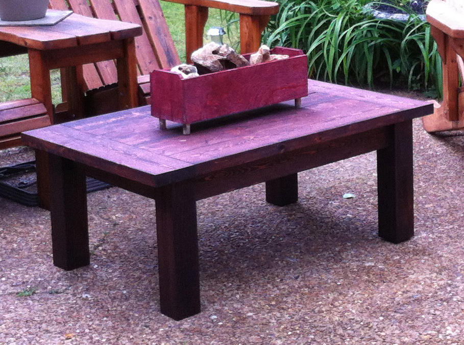 Rustic Farm Style Coffee Table By Furst Woodworks