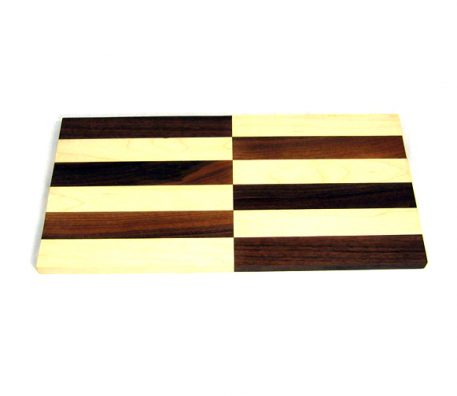 Opposites attract cutting board by Furst Woodworks