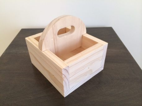 Wood Condiment holder