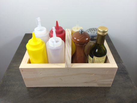 Handmade Wood Condiment Caddies Ventura, CA