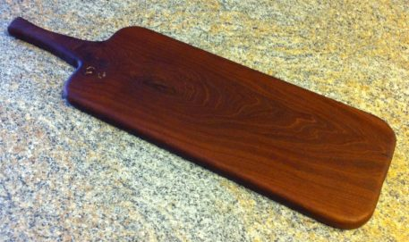 Paddle Board: Mahogany 19-1/2″ by Furst Woodworks