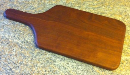 Paddle Board: Mahogany 16-3/4″ by Furst Woodworks