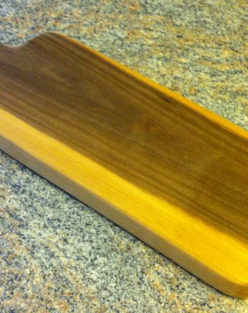 Paddle Board Block: Poplar 17-1/2″ by Furst Woodworks
