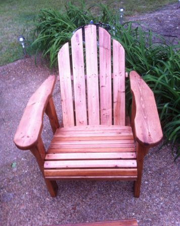 Adirondack Chair by Furst Woodworks